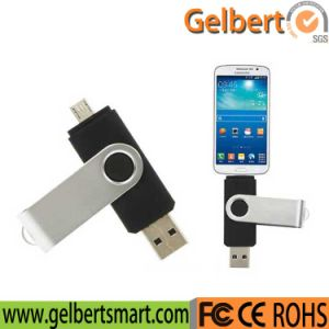 Cheapest Factory Price 8GB OTG Swivel USB Flash Drive pictures & photos