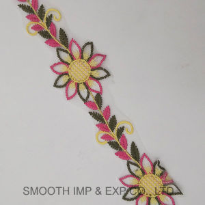 Fashion Flower Trimming Trendy Embroidery Lace Clothing Accessories Textile Fabric pictures & photos
