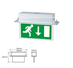 Recessed LED Emergency Exit Box Sign Light Jk-Kex9LED pictures & photos