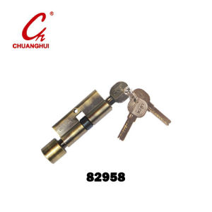 Furniture Hardware One Side Open Lock Cylinder pictures & photos