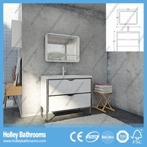American Style Hot Selling Compact Solid Wood Bathroom Vanity (BV220W) pictures & photos