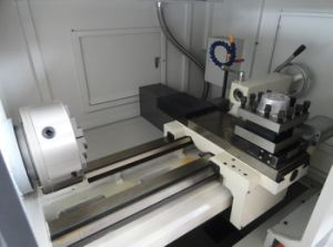 Independent Spindle Unit, Big Bore CNC Lathe Machine pictures & photos