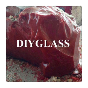 Red Slag Glass Rock pictures & photos