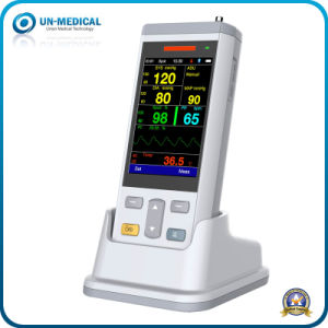 Handheld Vital Sign Monitor, NIBP+SpO2+Temp+Pr pictures & photos