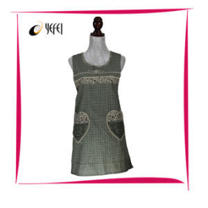 Korean Style Cotton Printing Cooking Kitchen Apron