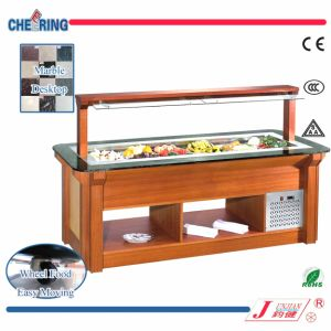 Marble Island Type Salad Bar (M-P1840FL4/M-P2170FL5/M-P2500FL6) pictures & photos