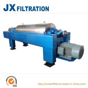 Horizontal Continuous Operation Scroll Discharge Decanter Centrifuge pictures & photos