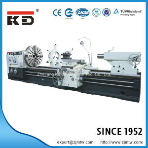 Heavy Duty Big Bore Metal Lathe Horizontal Bench Lathe Cw62125c/12000 pictures & photos