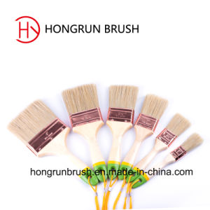 Wooden Handle Paint Brush (HYW024) pictures & photos