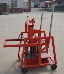 Manual Brick Making Machine Hot Sell Qtj2-45 Mobile Block Machine /Small and Easy to Operate pictures & photos