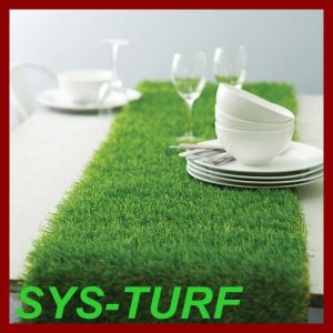 Artificial Lawn Used as Table Runner Carpet pictures & photos