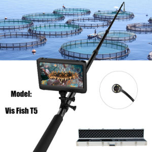 5m Telescopic Pole 1080P HD Digital Waterproof Undersea Video Search Camera DVR System for Aquaculture Farming (Vis Fish T5) pictures & photos