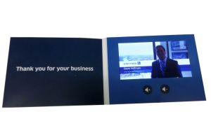Advanced Custom LCD Screen Greeting Video Cards From China pictures & photos