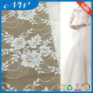 Fashion Dress Design African Tulle Lace Fabrics for Party