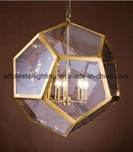 Metal Glass Chandelier (WHG-872) pictures & photos