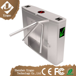 Bridge-Typed Tripod Turnstile Compatible with IC, ID, Barcode Card pictures & photos