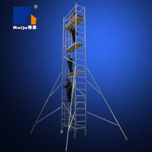 Single Width Scaffolding with Vertical Ladder 8.2m pictures & photos