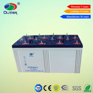 Deep Cycle Battery 2V 3000ah Backup Battery for Solar System pictures & photos