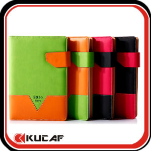 Office Suppy High Quality PU Diary Notebook pictures & photos
