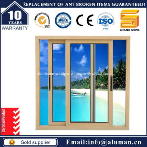 Horizontal Office Aluminum Sliding Glass Window (sw-7790) pictures & photos