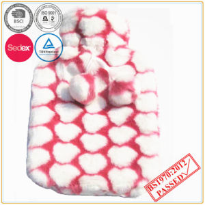 Heart Design Hot Water Bottle Cover pictures & photos