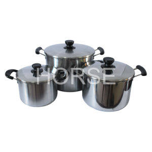 High Quality Stainless Steel Stock Pot Set (TZ-002)