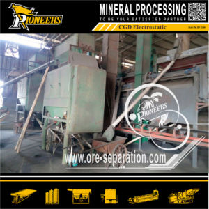 Roll Type Electric Ore Separation Zircon Sand Mine Dry Electrostatic Separator