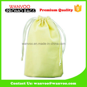 Eco-Friendly Customized Printed Gift Velvet Drawstring Bag for Packaging pictures & photos