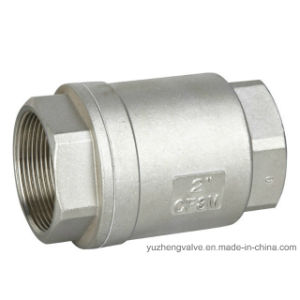 Stainless Steel Vertical Check Valve pictures & photos