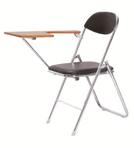 Simple Cheap Folding Chair with PU Leather pictures & photos