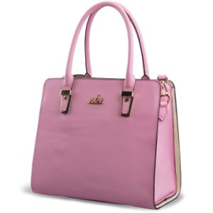 Guangzhou Suppliers New Items Designer Faux Leather Women′s Handbag (L5018) pictures & photos