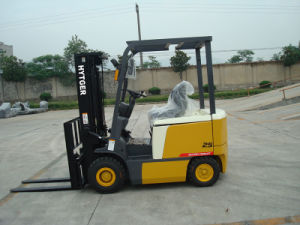 2.5ton Electric Forklift Truck with Low Price pictures & photos