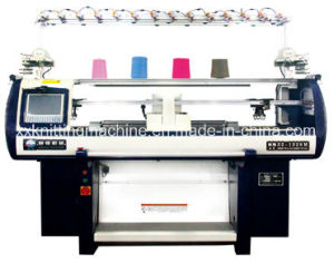 Double System Textile Knitting Machine for Shoe Upper