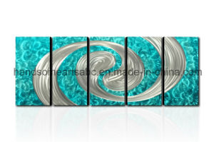 Abstract Design Metal Wall Art with 3D Effect for Decoration (CHB6014065) pictures & photos