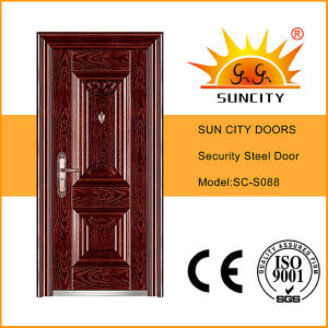Top Quality Wrought Iron Security Door (SC-S088) pictures & photos