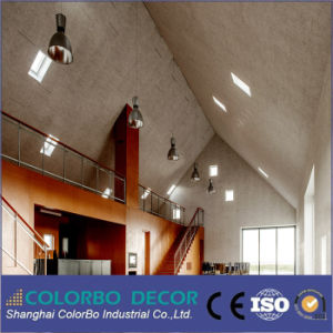 Factory Priced Sound Insulation Wood Wool Acoustic Ceiling Board pictures & photos