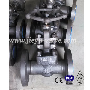 DIN Pn16 Forged Steel P285nh Flanged Gate Valve pictures & photos