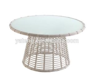 Outdoor Comfortable Rattan Wicker Garden Table Set with Cushion pictures & photos