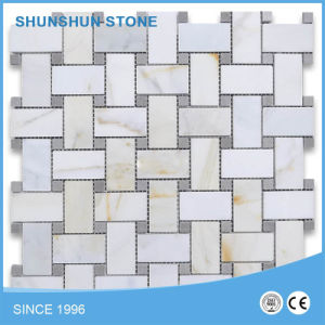 Beige Marble Polished Mosaic Tile pictures & photos