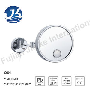 Extendable Stainless Steel Bathroom Wall Decorative Mirror (Q61) pictures & photos
