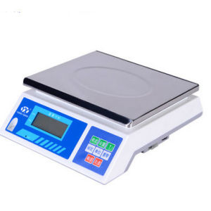 Digital Plastic Weighing Scale with Stainless Steel Plate (DH~dh) pictures & photos
