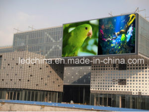 Outdoor P10 Ultra Bright Video Advertising LED Screen pictures & photos