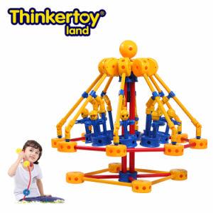 Thinkertoy Land Blocks Educational Toy Park Series Amusement Park Swivel Chair (P6203)