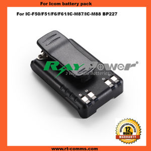 Two Way Radio Rechargeable Battery Bp227 Li-ion Battery for IC-F50 pictures & photos