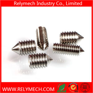 Hex Socket Head Set Screw with Cone Point in Stainless Steel 304 pictures & photos