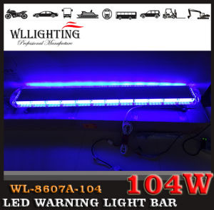 55inch 104 LED Light Bar for Emergency Warning Vehicle pictures & photos