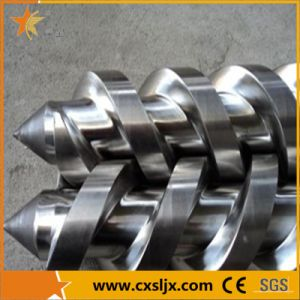Bimetallic Conical Twin Screw Barrel for PVC Pipe Extruder pictures & photos
