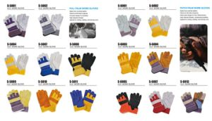 New Design Wholesale Safety Work Welding Gloves pictures & photos