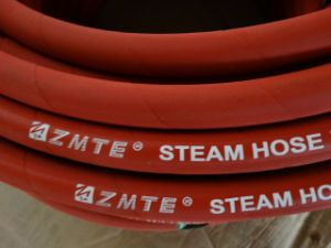 Zmte Red Colr EPDM Steam Rubber Hose pictures & photos