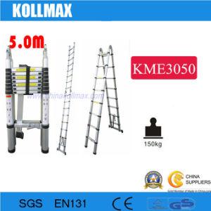 Magic Telescopic Ladder 5.0m pictures & photos
